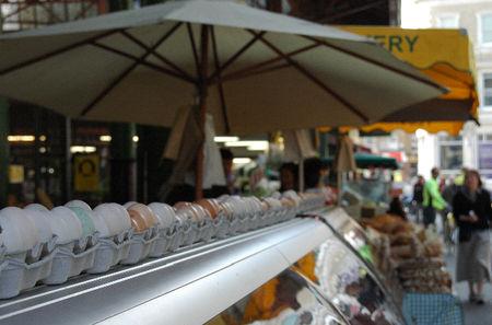 Borough market eggs